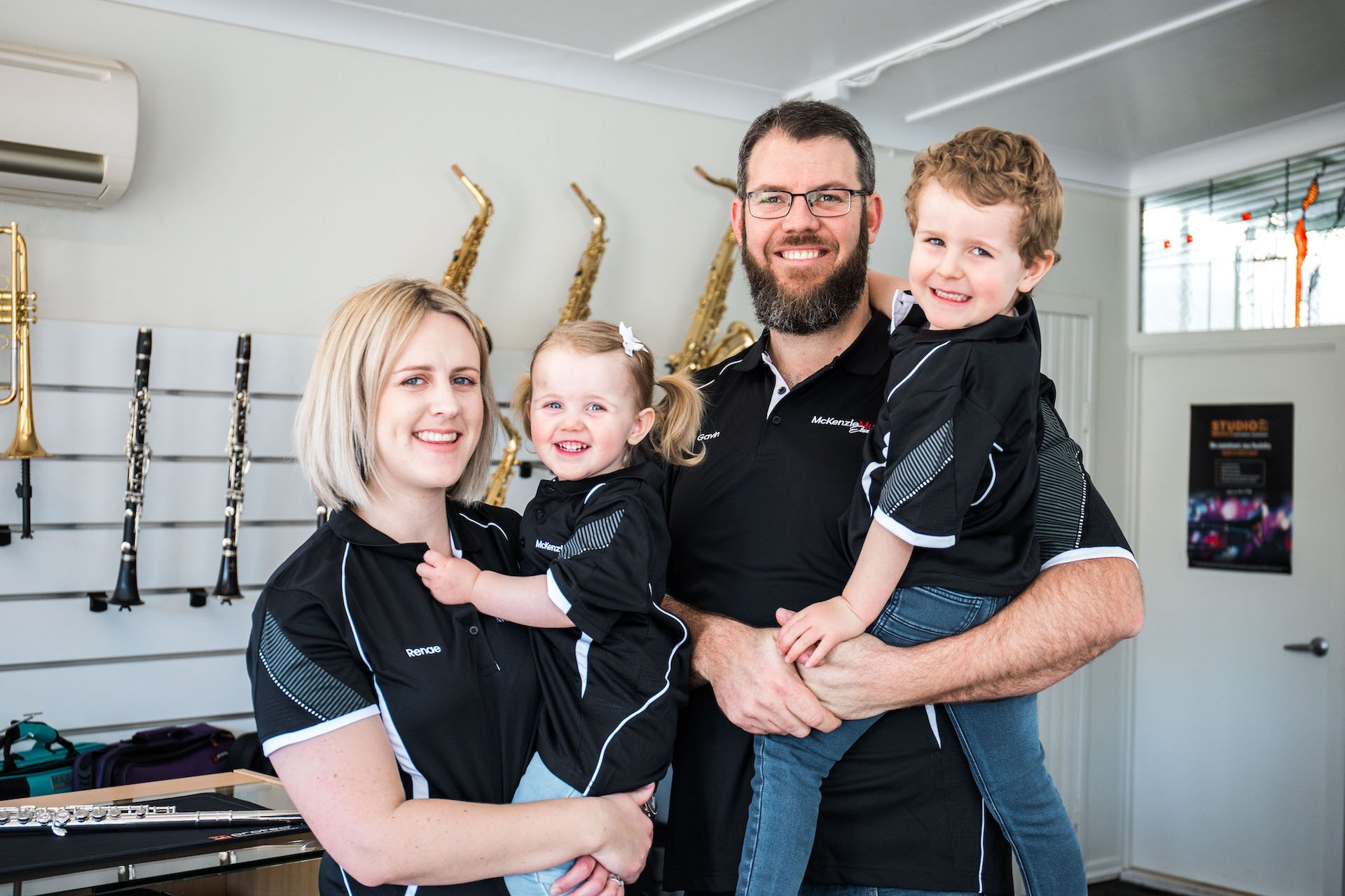 Introducing the McKenzies - the family behind McKenzie Music Etcetera, Toowoomba