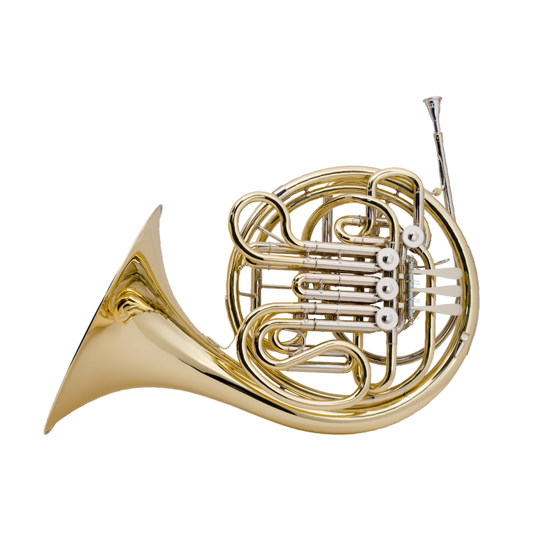 French horn, one of the brass musical instruments sold by McKenzie Music Etcetera. Buy online or in-store in Toowoomba, QLD.