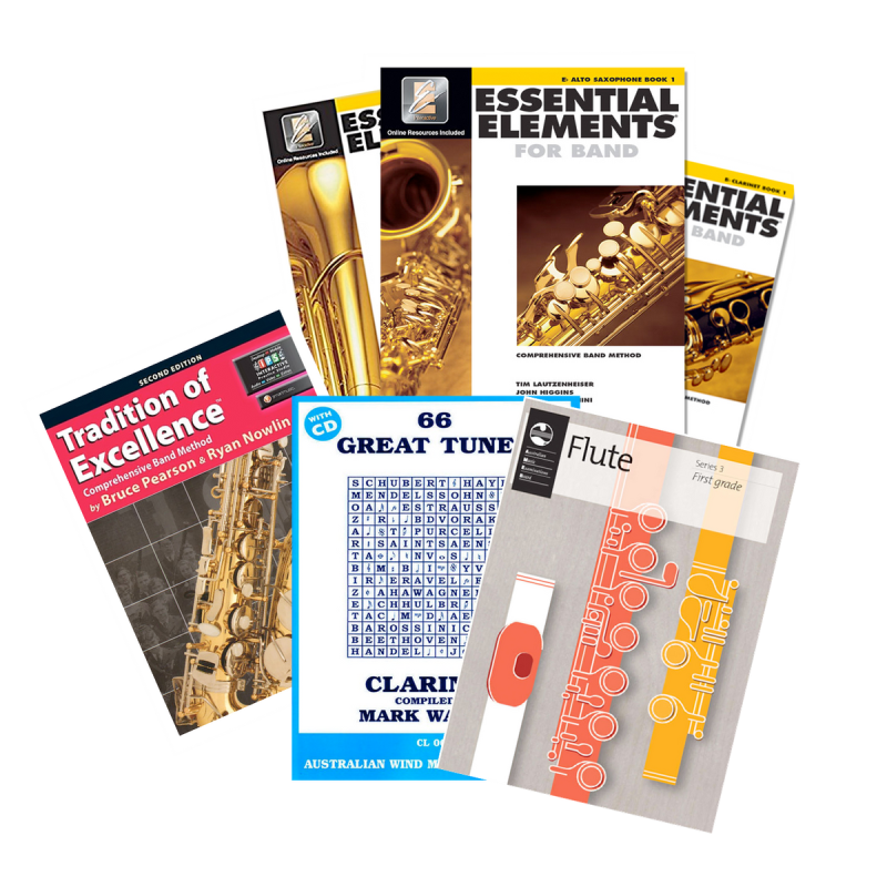 McKenzie Music Etcetera sells a range of sheet music and music books for a range of instruments. Buy online or purchase in-store in Toowoomba, QLD.