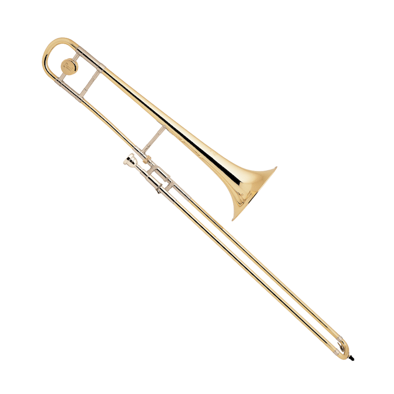 Photo of trombone, one of the brass instruments sold by McKenzie Music Etcetera. Buy online or in-store in Toowoomba, QLD.