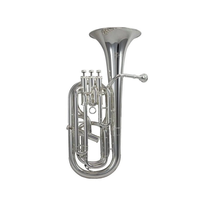 Photo of baritone horn, one of the brass musical instruments sold by McKenzie Music Etcetera. Buy online or in-store in Toowoomba, QLD.