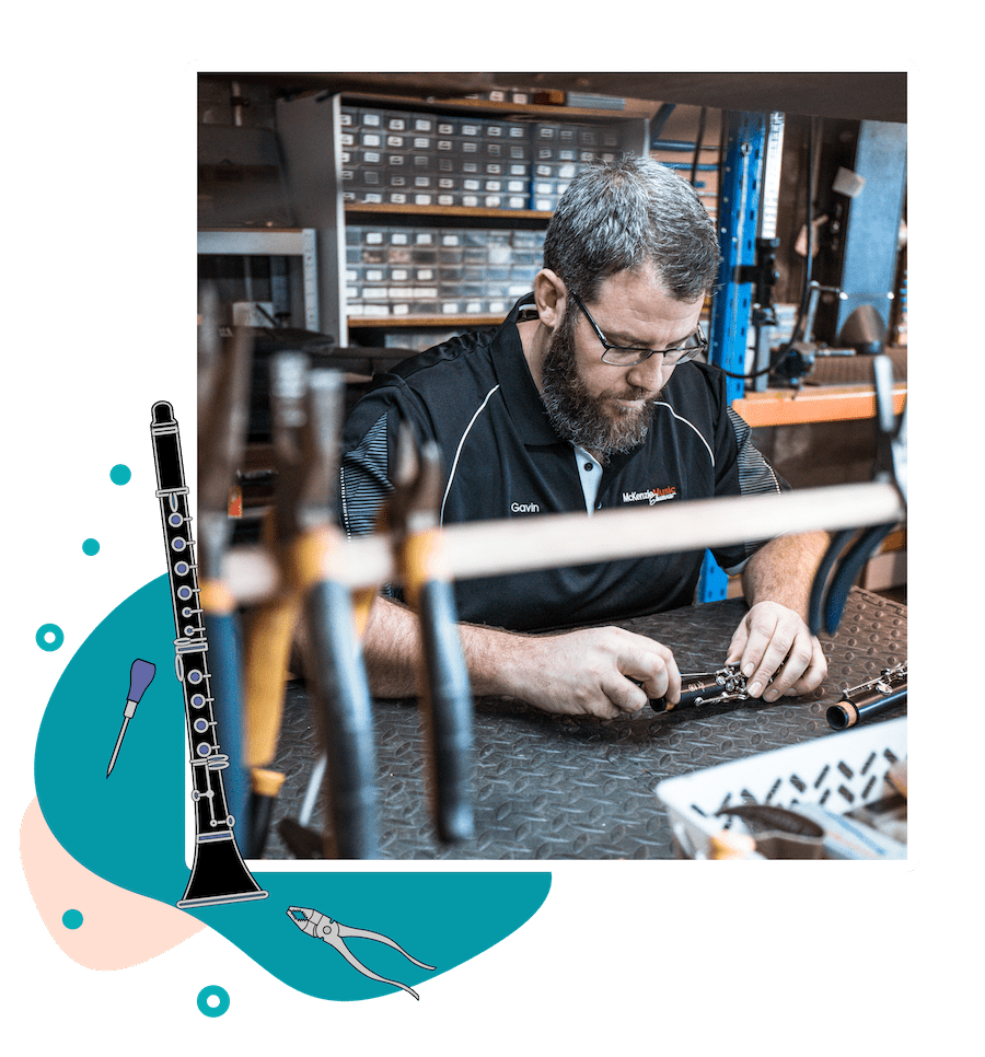 McKenzie Music Etcetera repairs and servicing available in Toowoomba, QLD.